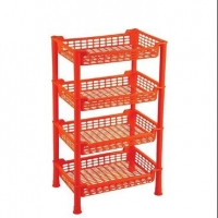 RFL 4 Step Beauty Rack Red 93011