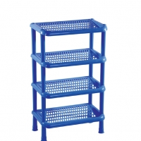 RFL 4 Step Sq Shoe Rack-SM Blue 86287