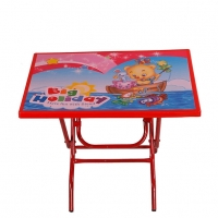 RFL Baby Reading Table Big Holiday Red 87277