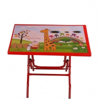 RFL Baby Reading Table Welcome Baby Red 87279