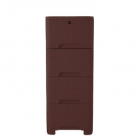 RFL Cane Closet 4 Drawer Eagle Brown 923243
