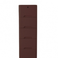 RFL Cane Closet 5 Drawer Eagle Brown 923242