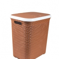RFL Cane Laundry Basket Medium Eagle Brown 76758