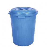 RFL Drum Bucket with Lid 90Ltr Blue 86784