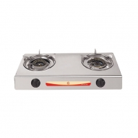 RFL Gas Burner Double S.S. Gas Stove 2-01 SRB NG