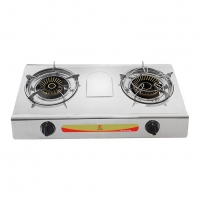 RFL Gas Burner Double S.S. Gas Stove 2-04 SRB NG