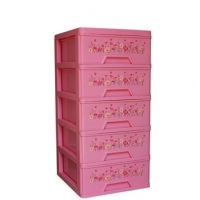 RFL Premium Closet 5 Drawer Light Pink 91533