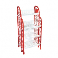 RFL Premium Kitchen Rack Red And White 918048
