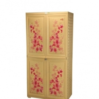 RFL Royal Almirah Knock Down Marble Flora 839774