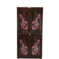 RFL Royal Almirah Knock Down Rose Wood Flora 839773
