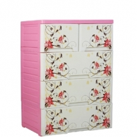 RFL Royal Wardrobe Double 4 Drawer Kamelia 88770