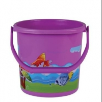 RFL Square Bucket 25L Printed Blue 87247