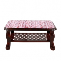 RFL Table Sofa Printed Rose Wood 86769