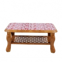 RFL Table Sofa Printed Sandal Wood 86770
