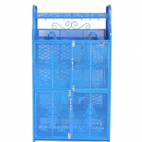 Royal Kitchen Shelf Classic 4 Door Blue 918083