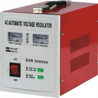 Servo AVR Short Circuit Automatic Voltage Regulator 3000VA