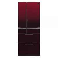 Sharp 6-Door Refrigerator SJ-GF60A-R