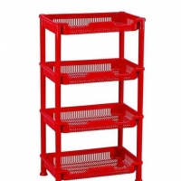 TEL Plastic Standard Rack Red 803319