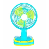 Super Rechargeable Folding Table Fan With Light JY-5590