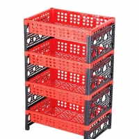 TEL Love Rack Red & Black 93043