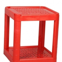 TEL Plastic Water Filter Stand Red 803006