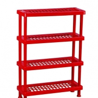 TEL Shoe Rack Red 803321