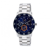 Titan Leather Analogue Watch For Men 1632SM03