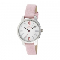 Titan Leather Analogue Watch For Women NE2481SL01