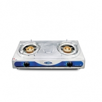 Topper Double SS Auto Gas Stove LPG A-203