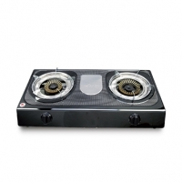 Topper Double SS Auto Gas Stove LPG A-206