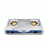 Topper Double SS Auto Gas Stove LPG A-208