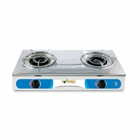 Topper Double SS Auto GAS Stove LPG A-217