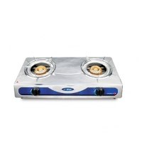 Topper Double SS Auto Gas Stove NG A-210
