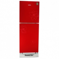 Transtec 196 Ltr Top Mount Refrigerator-Blooming Red-TRS 196G