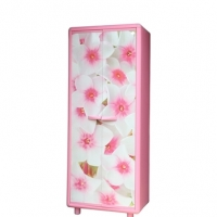 Trendy PVC Big Almirah Knock Down Magnolia Premio 93053
