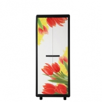 Trendy PVC Big Almirah Knock Down Tulip 821796