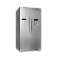 Vision side by side door Refrigerator VIS-556L