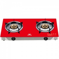 Walton Gas Stove  Glass Top Double Burner WGS-GNS2 (LPG)
