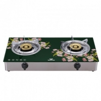 Walton Glass Top Double Burner WGS-3GSLH1 (LPG)