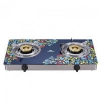Walton Glass Top Double Burner WGS-GSLS1 (LPG))