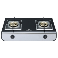Walton Glass Top Double Gas Burner WGS-AT299 (LPG)