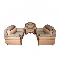Wood Art Oak Wood and Oak Veneer Sofa Set AC (00-420)