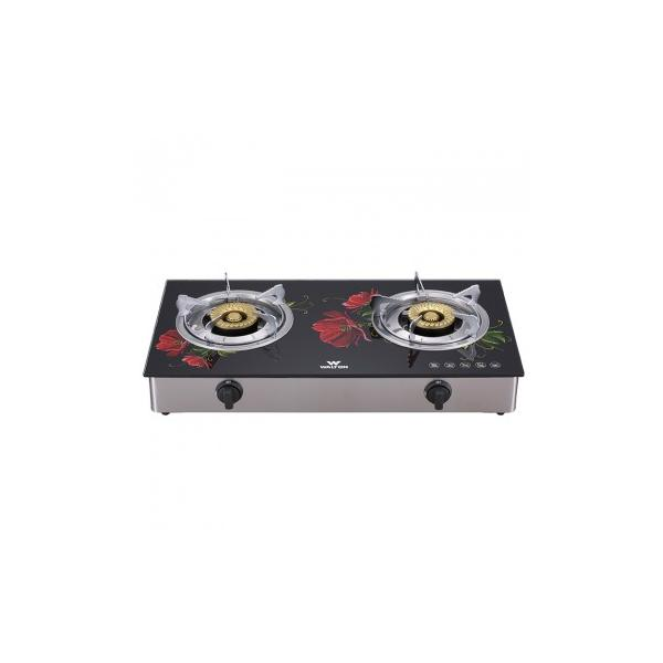 Walton Glass Top Double Burner WGS-3GSLH1 (NG)