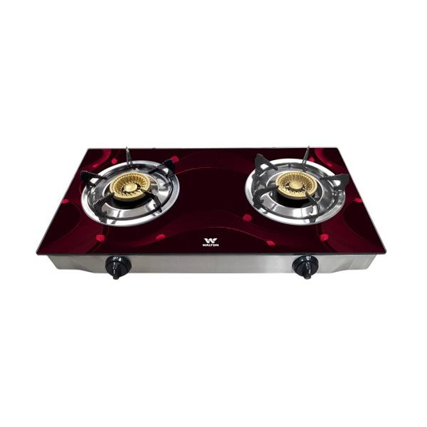 Walton Glass Top Double Burner WGS-GSC1 (NG)