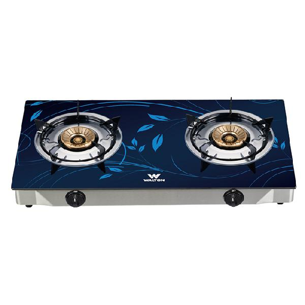 Walton Glass Top Double Gas Burner WGS-GNS1 (NG)