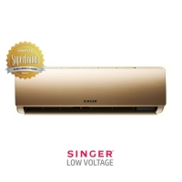 Air Conditioner 1.5 Ton Singer Low Voltage SRAC-SAS18L90LVLGT