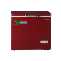 Chest Freezer 290 Ltr Singer-Red SRREF-SINGER-BD-290-GL-DR