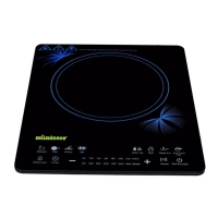 Minister Induction Cooker MI-RTS2057 Blue