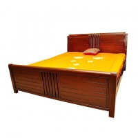 Nurjahan Furniture Oak Wood Bed BD-16
