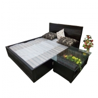 Nurjahan Furniture Stylish Semi-box Bed BD-08